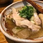 鶏と湯豆腐 居酒屋 あおぎ屋 - 鶏の煮込み
