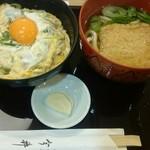 82343002 - 親子丼と小きつねセット(税込1,280円)