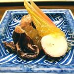 木山 - 飯蛸 茗荷 三杯酢のジュレ