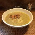 タイ食堂 みうら屋 - グリーンカレーのラーメン