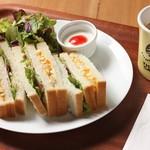 タイガーカフェ - サンドイッチセット
