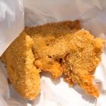 てんぷらの店 松木 - 料理写真:白身の魚 チキンカツ