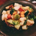 82346606 - うまい野菜山椒あんかけ₍₍ ( ๑॔˃̶◡˂̶๑॓)◞♡お野菜が 本当に美味しい❣️