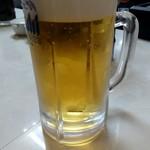 まるやま食堂 - 生ビール