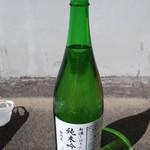 平喜酒造株式会社 - ドリンク写真:新酒祭り限定の無濾過のお酒ですよ(*´∀`*)