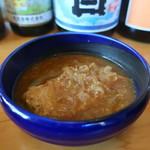 ワインカフェ 月 - カジキマグロの麻婆煮