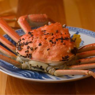 """調理法は茹で一本。最上級の越前がにを最上の食べ方""""茹で蟹""""で"""