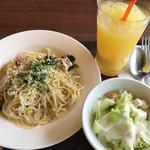 サンマルクカフェ - 料理写真:パスタセット