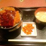 海鮮もんじゃ うづまさ - ソースカツ丼