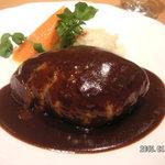 レストラン 西櫻亭 京都店 - ドミグラスハンバーグステーキ