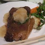 レストラン 西櫻亭 京都店 - ロースステーキ