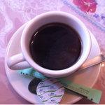 レストハウスリッキーズ - 日替わりランチの食後のコーヒー