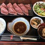 焼肉 海王 - ランチ・ハラミ定食 1404円