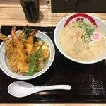 82351904 - 「天丼とらぁ麺」1380円