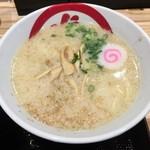 82351908 - 「天丼とらぁ麺」1380円のミニラーメン