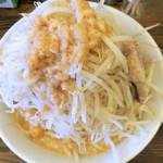 高木のぶぅ - ラーメン+野菜マシ油普通