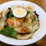 飩餃 - 料理写真:中華丼