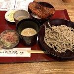 御清水庵 清恵 - おろしそば+ソースカツ丼