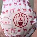 82355381 - 鳥居&紅葉&鹿の包装