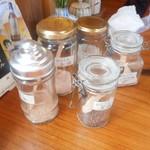 そばきり 吾妻路 - 変わり蕎麦用の塩