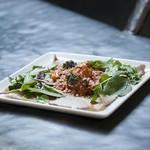 ル・コフレ・ドゥ・クーフゥ  - チキンのトマト煮込みガレット