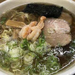 らーめん工房 魚一 - 料理写真:トップフォト① エビ醤ラーメン さっぱり 太麺