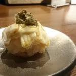 酒盃 いち膳 - 蟹みそ湯葉寿司