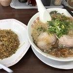 来来亭 - 料理写真:ラーメン・炒飯セット