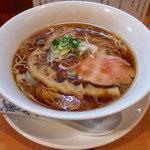 中華そば 大井町 和渦 - 料理写真:中華そば(800円)+鶏ポン酢丼(10円)