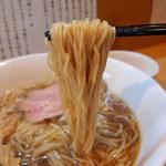 82358972 - 中華そば(800円)+鶏ポン酢丼(10円)