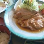 82359215 - 生姜焼き定食