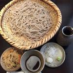 野麦 - ざる蕎麦 大盛¥1300