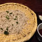 82361151 - ざる蕎麦¥700