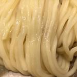 めいげんそ - 塩つけ麺の麺はモチモチっす
