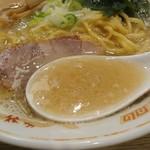 味八 - 豚骨+塩スープ
