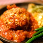 ハンバーグ&ステーキ食堂 KURAUZO - イタリアンハンバーグ(200g) 1058円