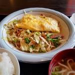 サムウェイ - 野菜炒め(たまご焼き付)