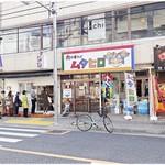 肉中華そばムタヒロ - 外観。行列は隣のお店のです。