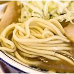 肉中華そばムタヒロ - ツルツルプリプリ麺