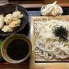 睦ちゃんうどん - 料理写真:ざるうどん ごぼう天付=690円 大盛り=100円追加