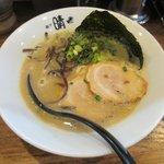 麺や 晴 - 博多らーめん2018.03.09
