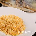 中国料理&ワイン yinzu - 調味料も塩も使わずに仕上げる『ハムユイ炒飯』
