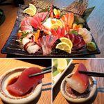 夜景一望・東京風情・旬魚備長 ~結花~ - 朝〆・一番セリ直送 漁師町の板盛り
