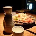 夜景一望・東京風情・旬魚備長 ~結花~ - 昔ながらのソース焼きそば・・・濃くて甘くて、お酒に会う焼きそば!!