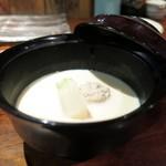 蒼天 - 豆乳仕立ての鳥団子汁