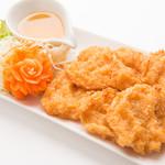 本格タイ料理バル プアン - トードマンクン(海老のふわふわすり身揚げ)