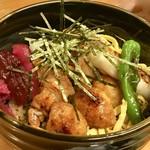 串やき黒田 - 炭火焼鶏丼