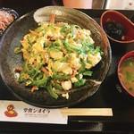 ライオン食堂 - ゴーヤーチャンプルー定食