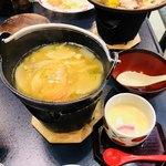 阿蘇プラザホテル - 団子汁   茶碗蒸し