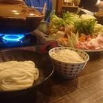 麦 - 料理写真:うどんすき